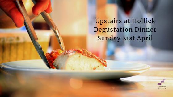 Upstairs at Hollick Degustation Dinner
